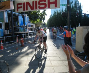 Joe at Finish